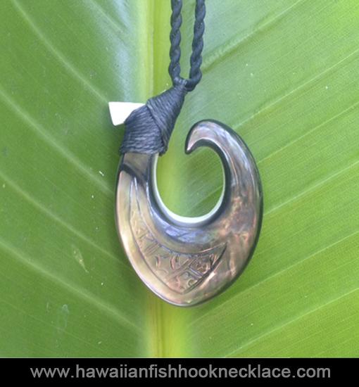 Lono hawaiian fish hook necklace for Hawaiian fish hook