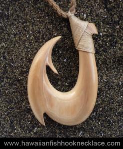 Custom Mammoth Hook for Derek – Hawaiian Fish Hook Necklace