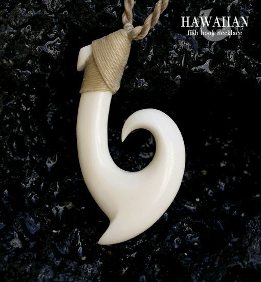 signature wave hook necklace
