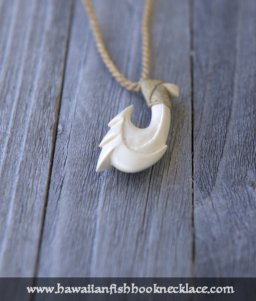 Nalu hawaiian hook necklace hawaiian fish hook necklace for Fish hook necklace