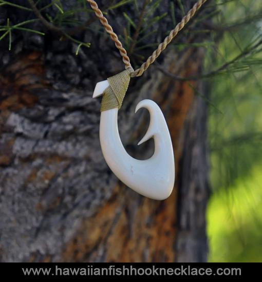 hawaiian fish hook necklaces