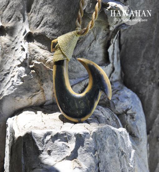 hawaiianfishhookmammothivorynecklace